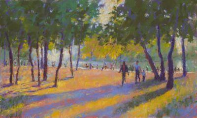 Sibley,Gail-SummerEveningInBudapest-10.75X18In