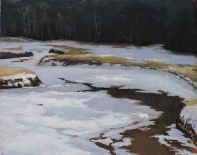 Lindley,Patricia-WinterSaltMarsh-13x17