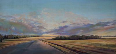 ObieFrances-RoadThroughAlbertaFields-16x32