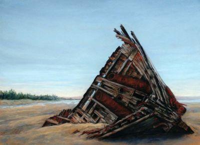 Wallace,Lucy-WreckOfThePesutaHaidaGwaii-12x16