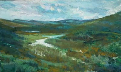 Cathy Cullis, MPAC, Down in the Valley, 6.5x11