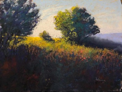 Fred Fielding, MPAC, Top of the Hill, 12x16