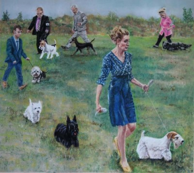 Eva Fletcher-Walker, Terrier Group, 17x19