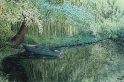 Musa Musa, Canopy, 24x36