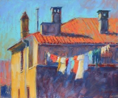 Gail Sibley,MPAC,  Pula Rooftop, 10x12