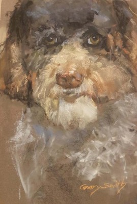 Gary Smith, PAC, Azamara Dog, 11x17