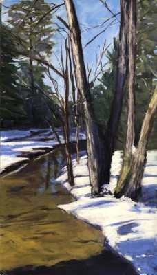 Lisa Speers,  Winter Walk, 12x24