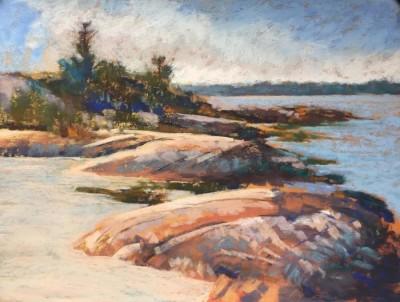 Helen Stephenson,  Granite Island, 9x11