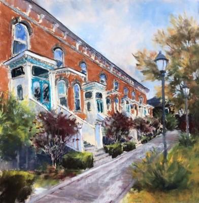 Helen Van Poorten, Victorian Terrace, 11x11