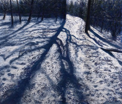 Catherine Lorraway PAC Snow Shadows 16x19