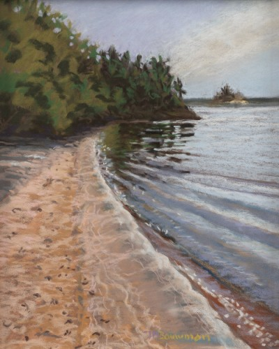 Jake Bouwman Killbear Shoreline, 8.5x11