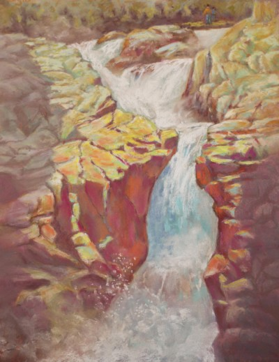 Jeanne Aten Swift Water 20x16