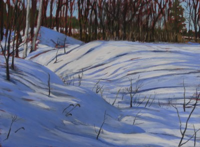 Leslie Miles Winter Morning 15.5 x11.5