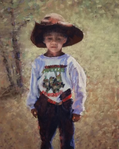 Michele Carlino-Tamane He is a Cowboy Today 8x10