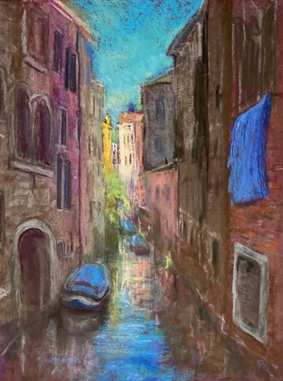 Penny Griffin Memories of Venice 12x16