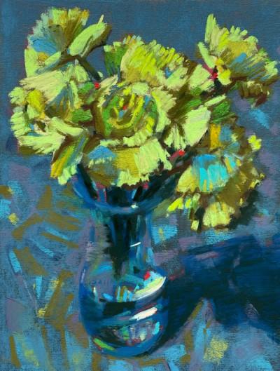 Susan Typert MPAC Green Carnations 8x6