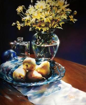 Roberta Combs, MPAC-EP  Catching Rays, 23 x 19